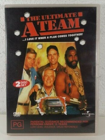The Ultimate A Team ( DVD, 2 DISC SET ) 1983 MR T - 6 EPISODES - RARE