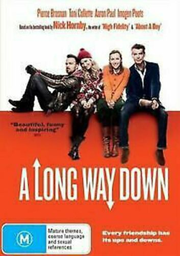 A Long Way Down, DVD brand new sealed  t122