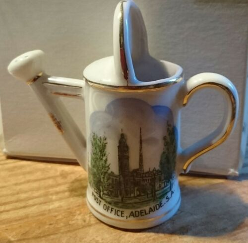 SOUVENIR WARE SMALL WATERING CAN - POST OFFICE, ADELAIDE S.A. - Vintage