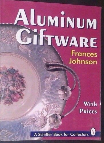 ALUMINUM DISH COLLECTIBLES PRICE GUIDE COLLECTORS BOOK Plate Serving Platter+
