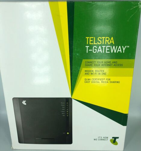 Telstra T-Gateway -ADSL2 +Router Wifi Pre-Owned FREE SAME DAY POST