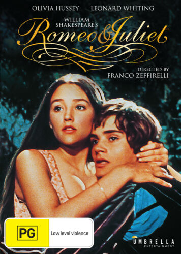 Romeo and Juliet |1968 (DVD) NEW/SEALED