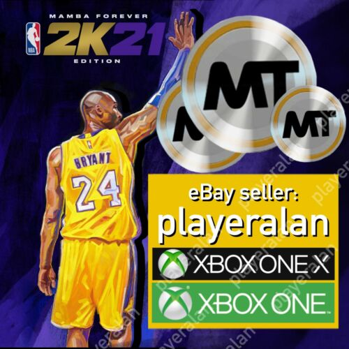 NBA2k21 MyTeam Xbox MT COINS - 100K MT - **No.1 Seller On eBay - playeralan**