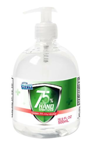[16.9 oz] Cleace Advanced 75% Alcohol Sanitizer Gel, large 16.9 oz, up to 24PK <br/> FREE SAME BUSINESS DAY SHIPPING VIA UPS