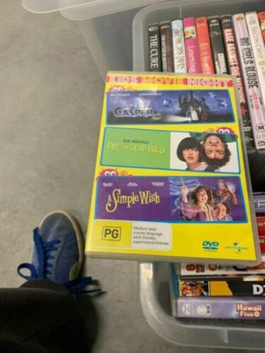 casper drop dead fred a simple wish 3 movie collection very good condition t126