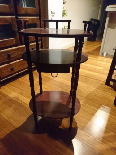 Antique stand with draw