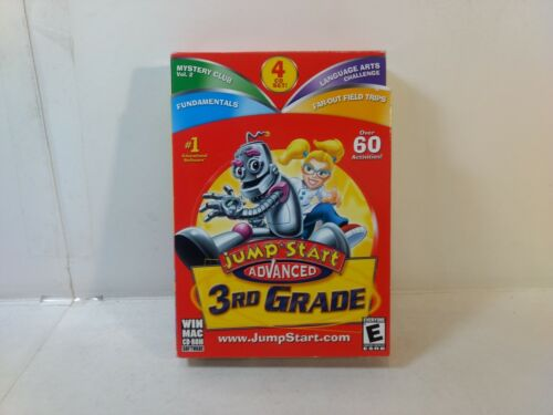 Jump Start Advanced 3rd Grade 4 CD-Rom Set gm1463
