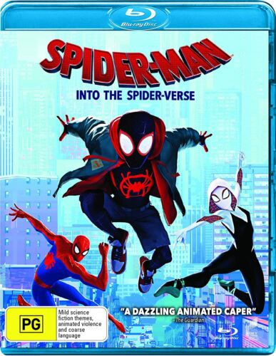 Spider-Man: Into The Spider-Verse (Blu-ray), NEW SEALED AUSTRALIAN RELEASE