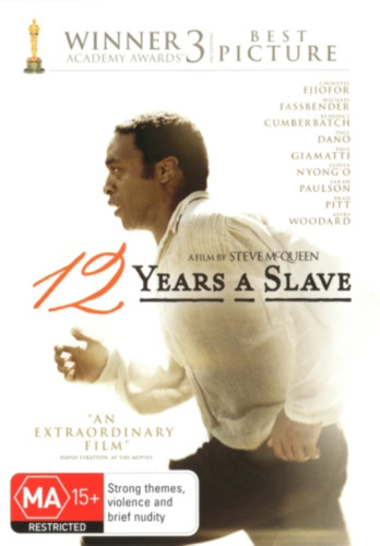 12 Years a Slave (DVD) NEW/SEALED