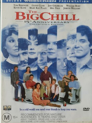 The Big Chill 💫 DVD : In a cold world you need your friends to keep you warm