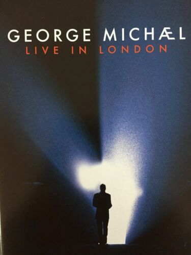 GEORGE MICHAEL - Live In London 2 x DVD  very good condition  t787
