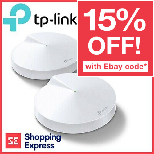 TP-Link Home Mesh Deco M5 AC1300 MU MIMO Dual Band Whole Wi-Fi System 3 Pack