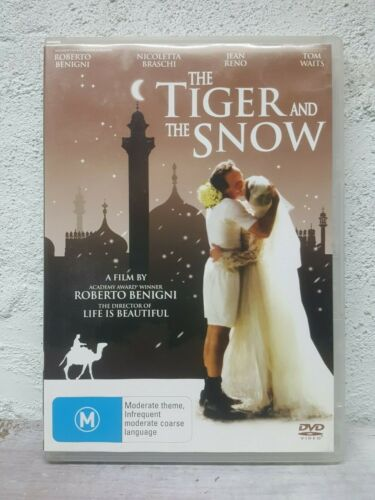 The Tiger and the Snow DVD  Roberto Benigni Italian Movie - Tom Waits ENG SUBS