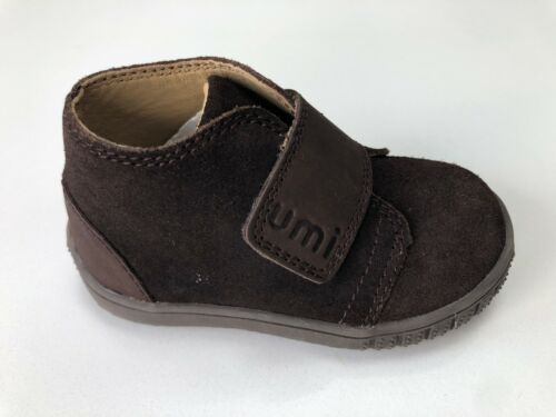 Umi Bodi Brown Leather Ankle Boot Size UK 4 Infant  EU 20