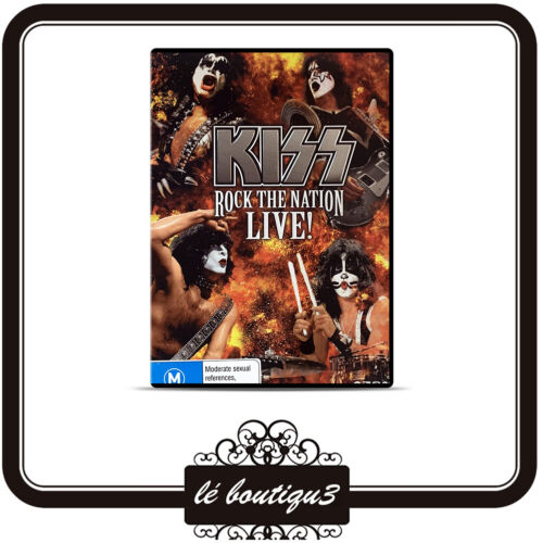 Kiss - Rock The Nation Live DVD