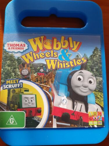 Thomas & Friends Wobbly Wheels And Whistles DVD The Tank Engine DVD - FREE POST
