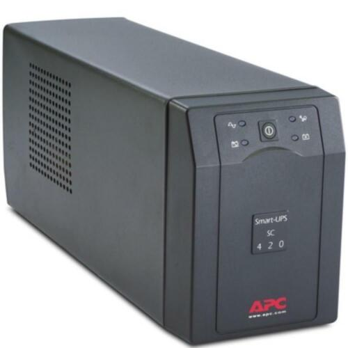 APC SC420I Smart-UPS SC 420VA/260W 230V 4 AC Outlets Battery Businesses
