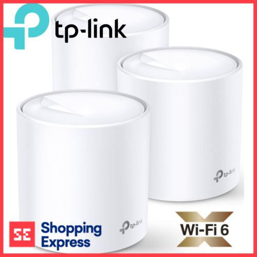 TP-Link Wi-Fi 6 Home Mesh System Deco X60 AX3000 Dual Band Whole 3 pack MU-MIMO
