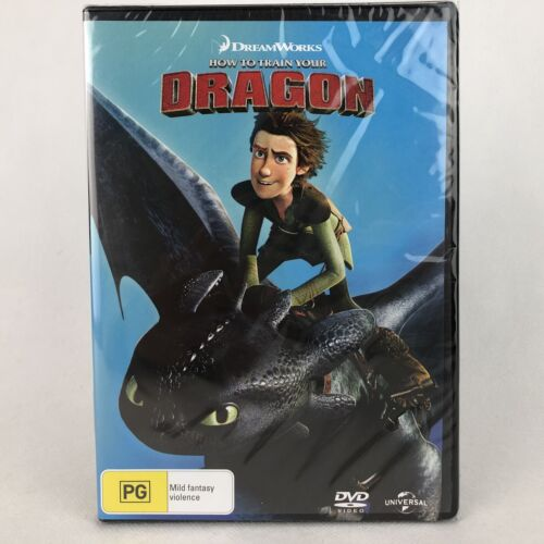 How to Train Your Dragon DVD Region 4 New Sealed