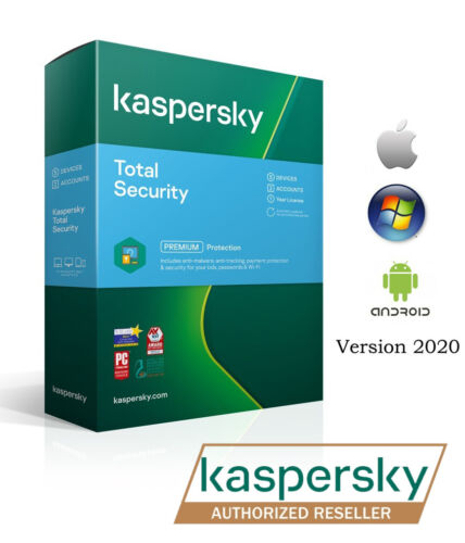 Kaspersky Premium Total Security  1 Device 1 Year License Key 2020