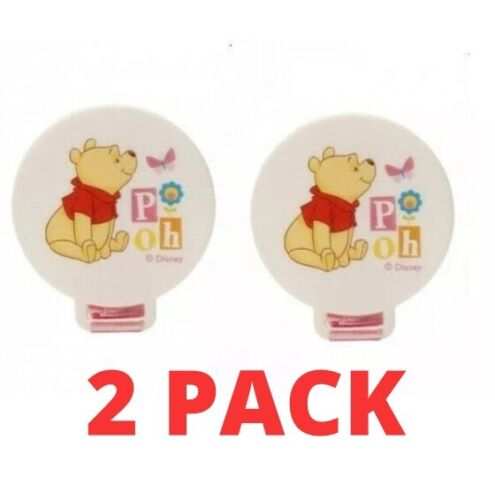 Disney Pacifier Soother Dummy Holder 2 PACK 0 months+ Various Colours & Designs