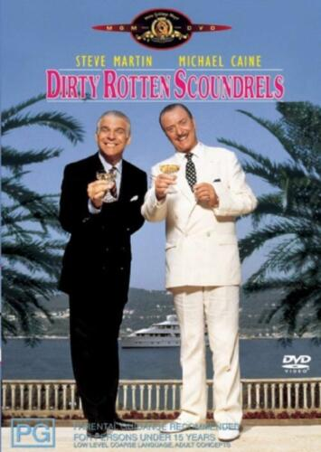 Dirty Rotten Scoundrels DVD (PAL) FREE POST