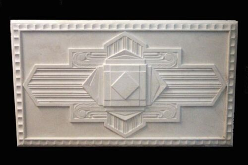 ART DECO PLASTER CEILING CENTRE/ROSE - RARE  530x920