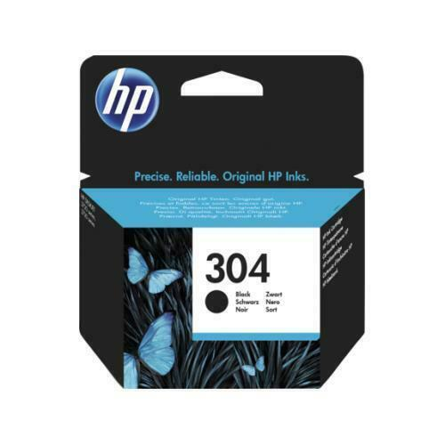 CARTUCCIA HP 304 ORIGINALE NERO PER DESKJET 2620 2630 2632 HP ENVY 5020 5032