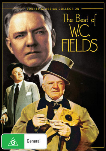 THE BEST OF W.C. FIELDS - BRAND NEW & SEALED DVD (BOUNTY CLASSICS COLLECTION)