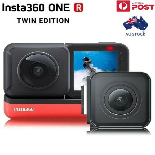 Insta360 ONE R Twin Edition Sports Video Action Camera 5.7KWide Angle Dual Lens <br/> AU STOCK ✔ 100% Insta360 Genuine✔ Full Warranty
