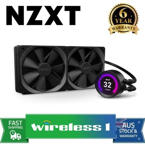 NZXT Kraken Z63 280mm AIO RGB Liquid CPU Cooler with LCD Display