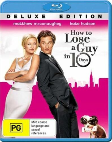 How To Lose A Guy In 10 Days (Blu-ray) NEW/SEALED