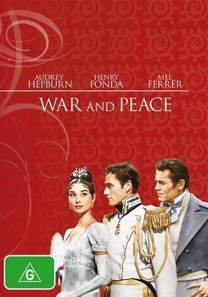 War and Peace (DVD, 1956) FREE POST