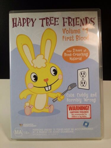 Happy Tree Friends_DVD_Volume 1: First Blood_OVER 2 HOURS_R4