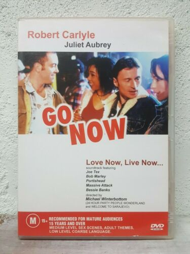 Go Now DVD Robert Carlyle Multiple Sclerosis MS Disease Themes UK 1995 Movie