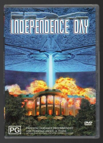Independence Day DVD - FREE POSTAGE IN AUSTRALIA