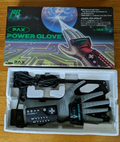 Nintendo Famicom Power Glove Boxed PAX Japan