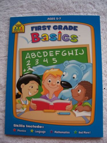 BN School Zone First Grade Basics Ages 5-7
