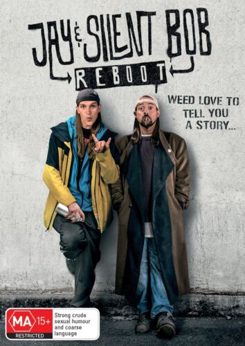 Jay and Silent Bob Reboot DVD Region 4 NEW