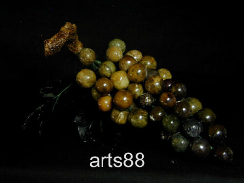 GREEN JADE of a CLUMP of GRAPES L-40 Round