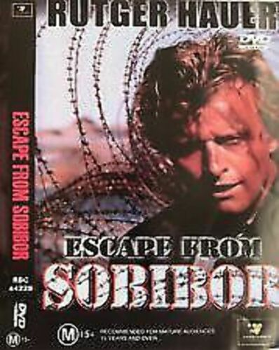 Escape From Sobibor DVD very good condition  t131