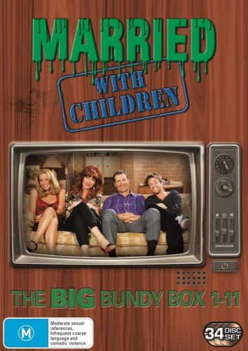 Married With Children The Complete Series Box Set DVD Region 4 NEW