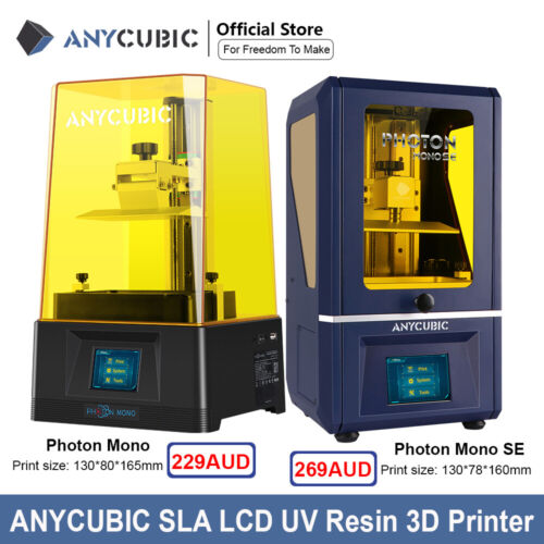 ANYCUBIC Photon S / Photon Zero / Wash and Cure machine 3D Printer UV Light-cure