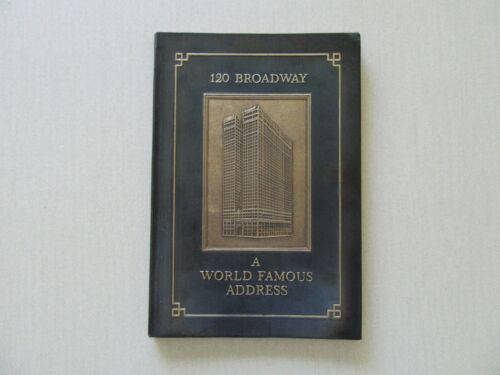 120 Broadway: A World Famous Address (The Equitable Building) Rare,1915? - Fine