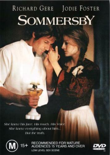 Sommersby DVD (PAL, 2000) VGC,  FREE POST