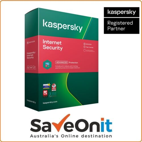 Kaspersky Internet Security 2020 5 PC Device 1 Year Android Mac Windows Email