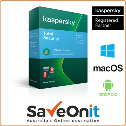 Kaspersky Total Security 2021 5 Device 1 Year 2 accounts  Email license key