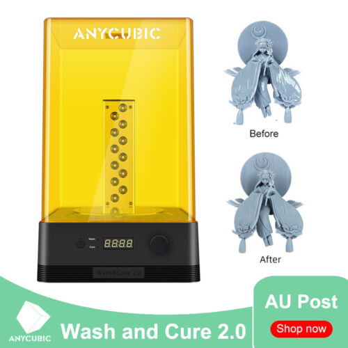 AU ANYCUBIC Wash and Cure Use for 3D Printer 2-in-1 Machine Washing Container UV
