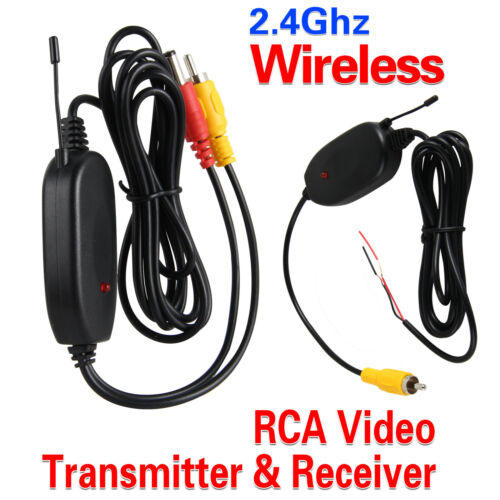 2.4Ghz Wireless Transmitter Receiver for Car Rear View Reversing Monitor Camera