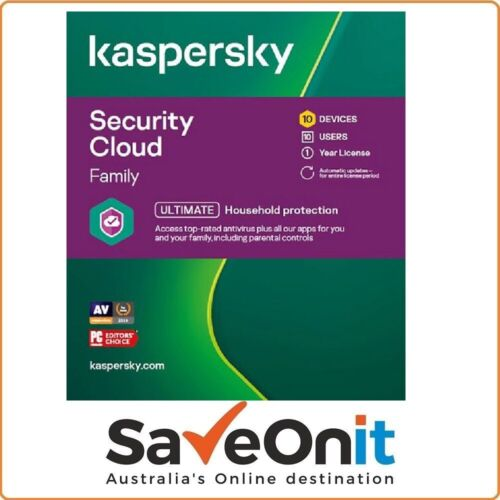 Kaspersky Security Cloud Family 20 Device 5 User 1 year License email